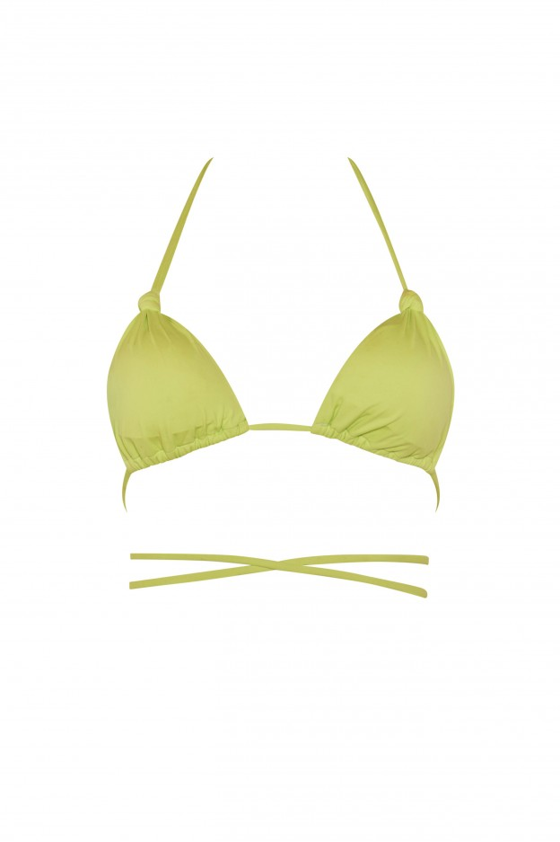 CAMILLE LIME GREEN TOP